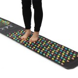 Foot Massage Mat Medical Therapy Pad Reflexology Massager Pain Relief Walk Stone Stimulator