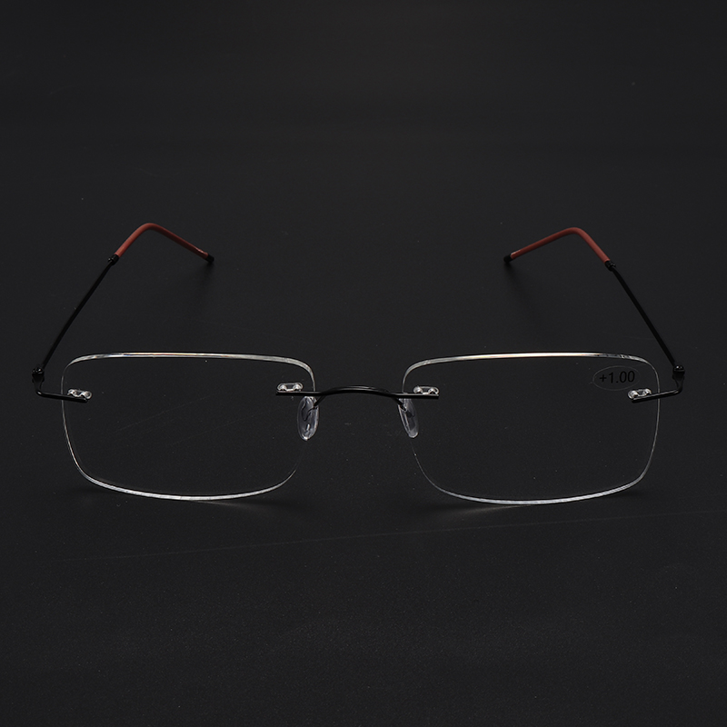 Rimless Progressive Multifocal Presbyopia Intelligent Reading Glasses Resin Lens