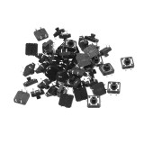 50pcs Tact Switch SMT SMD Tactile Membrane Switch Push Button 12x12x7.3mm