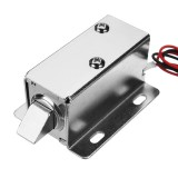 12V DC 0.83A Electric Lock Assembly Solenoid Cabinet Drawer Door Lock Tongue Latch