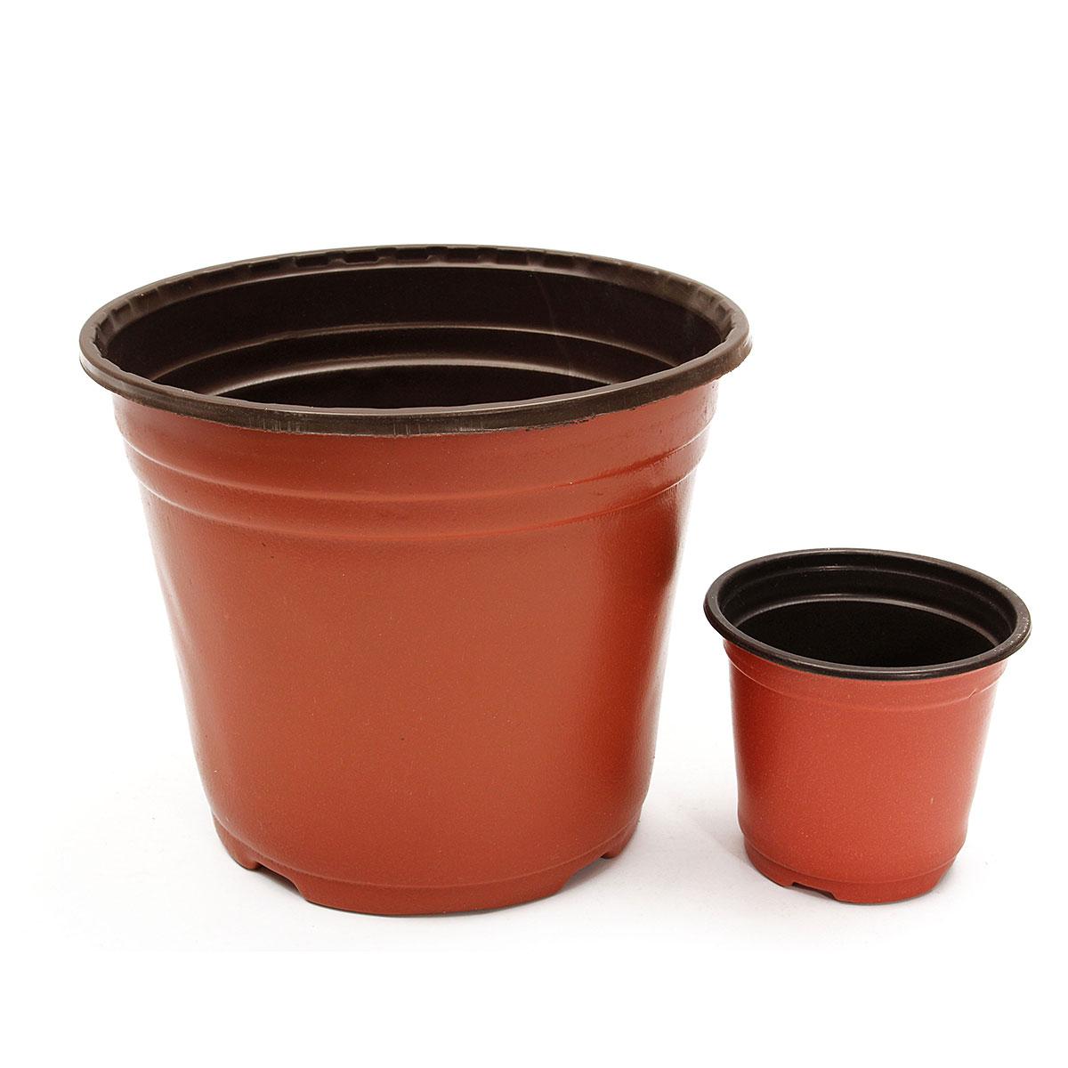 50pcs Plastic Nursery Pot Flowerpot Plant Seedlings