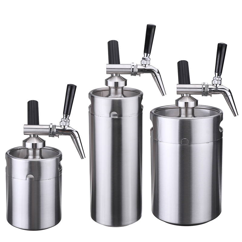 Nitro Cold Brew Coffee Maker Mini Stainless Steel Keg Home