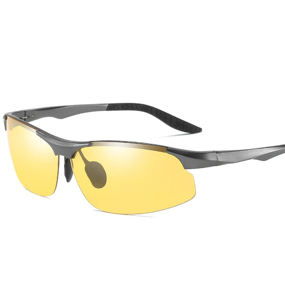 Designer Summer HD Rimless UV Resistence Polarized Sun Glasses For Men