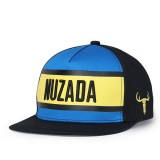 NUZADA Men Women Patchwork Letter Embroidery Printing Baseball Caps Adjustable Peaked Hats