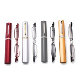Mens Womens Portable Readers Reading Glasses Lightweight Folding Presbyopic Glasses With Case