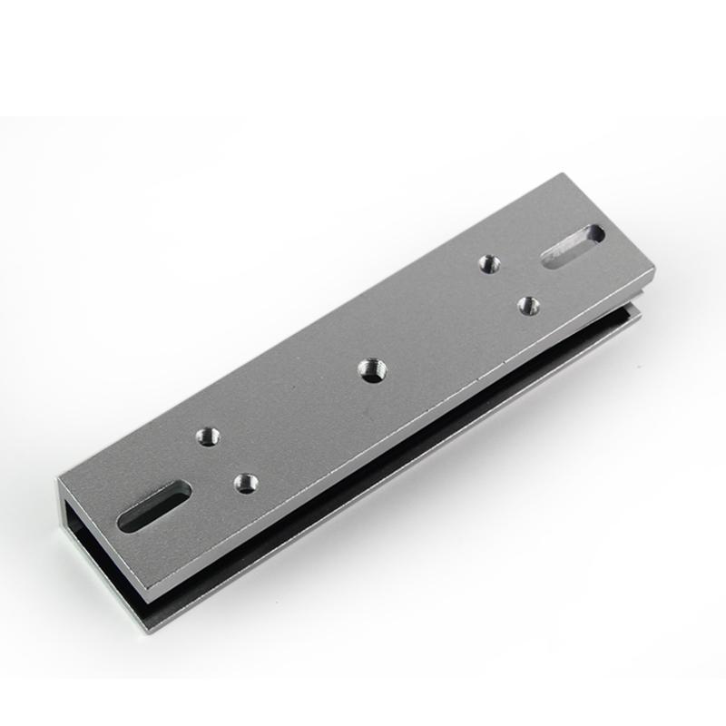 280kg Magnetic Door Lock U Shape Bracket 350lbs Frameless Glass Door