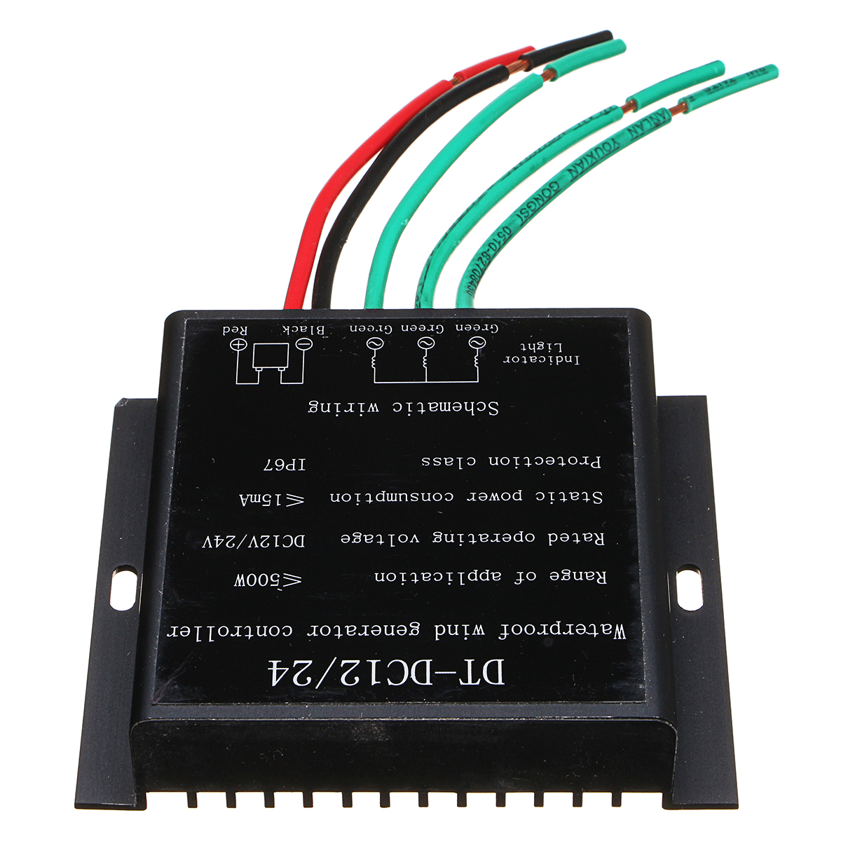 100W-500W DC 12V//24V Wind Turbine Wind Generator Controller Battery Charger Cont