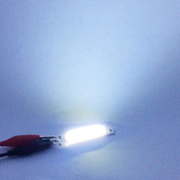 10pcs DC12V 2W COB LED Chip Light White Yellow Orange Green Blue Red Purple Lamp for DIY