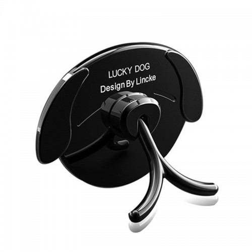 Bakeey Lucky Dog 360 Degree Rotation Finger Ring Holder Desktop Stand for Samsung Xiaomi Cell Phone