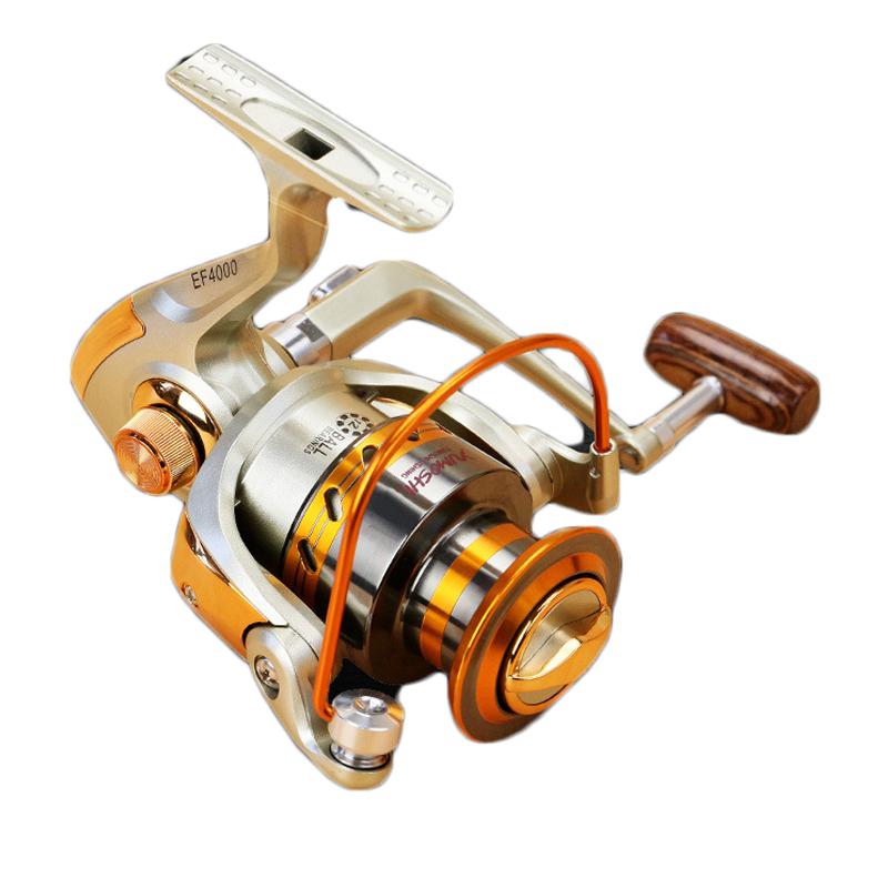 ZANLURE EF3000-6000 5.5:1 12+1BB Full Metal Spinning Reel Left/Right Hand interchange Fishing Reel