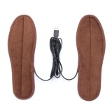 Winter Electric Foot Warmer Heater USB Charging Shoes Insoles Heating Pads
