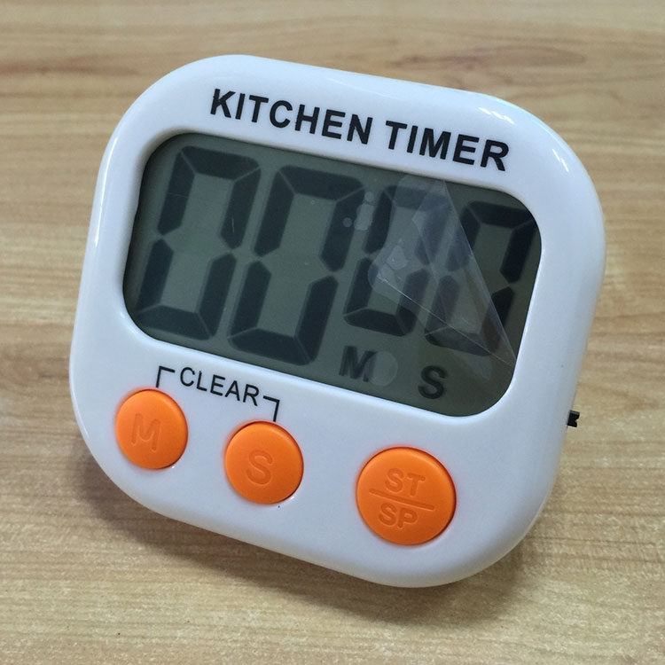 Digital Kitchen Timer Electronic Alarm Magnetic Backing With LCD Display  For Cooking Baking Sports Games Office