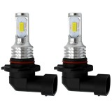 2 PCS 9006 HB4 72W 700LM 3000K Super Bright Yellow Light Car Fog LED Bulbs, DC 12-24V
