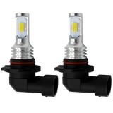 2 PCS 9006 HB4 72W 1000LM 6000-6500K Super Bright White Light Car Fog LED Bulbs, DC 12-24V