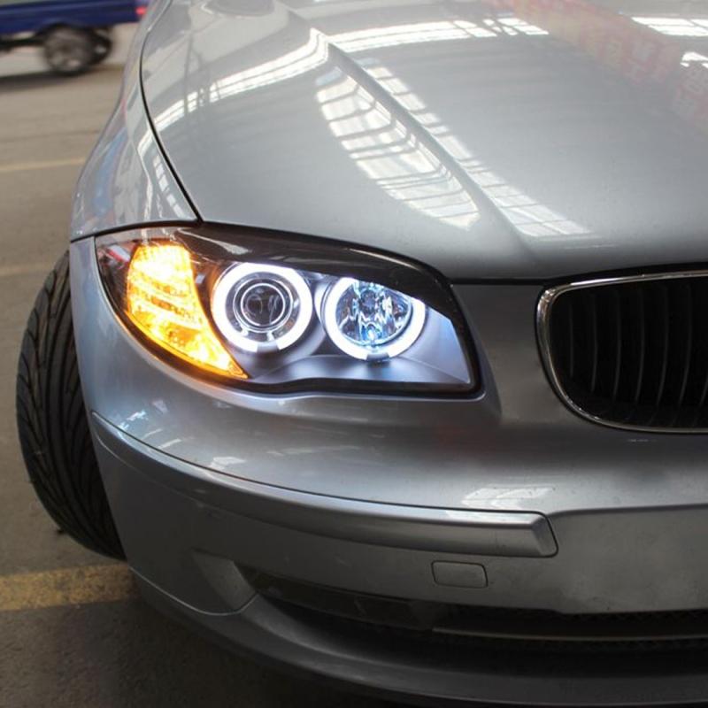 2 Pcs Dc 12 24v 40w 1800lm 8 Led Car Angel Eyes Halo Ring Marker Light Bulb White Light For X5 E70 All Models 2007 Up X6 E71 All Models 2008 Up