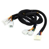 Car Stereo Ampplified DSP Audio Extension Cable Wiring Harness, Cable Length: 1.5m, For Toyota Vios, Camry, Corolla, BYD F3/L3/G3/F6/G3, Prius and More Vehicles
