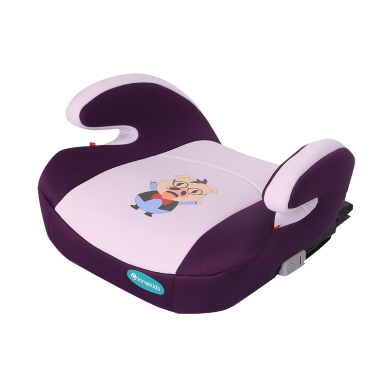Kids Children Cartoon Animal Print Isofix Interface Car