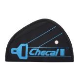 Car Safety Cover Strap Adjuster Pad Harness Seat Belt Adjuster (Black)