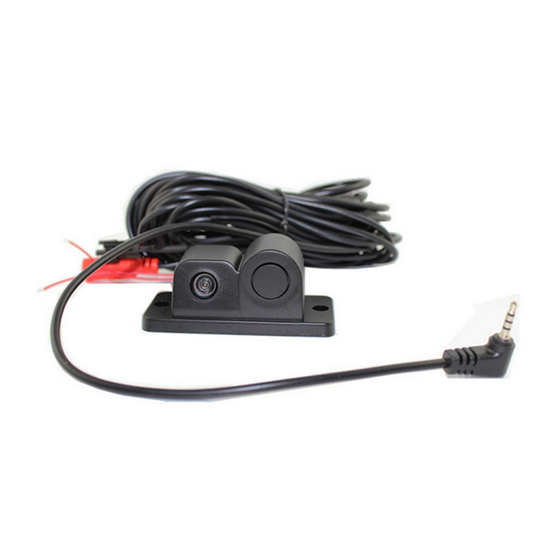 PZ452 4.3 inch LCD Rear View Mirror Car Recorder with Parking Camera, 600TV Lines, 170 Degree Wide Angle Viewing