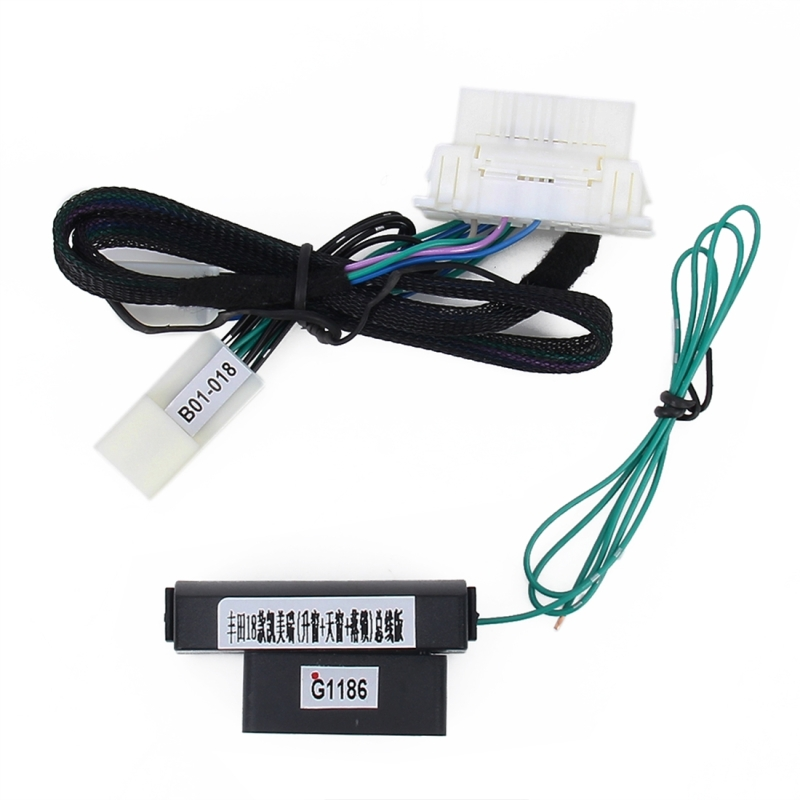 Car Alarm Module System 4-Door Automatic Window Closer Security Power Roll-Up Tool for Camry