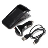 LD-158 Sun Visor Clip Wireless Bluetooth V3.0 Handsfree Car Kit Speaker Speakerphone