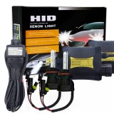 55W 9004/9007/HB1/HB5 4300K HID Xenon Conversion Kit with High Intensity Discharge Slim Ballast, Warm White