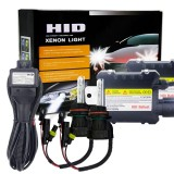 55W 9004/9007/HB1/HB5 4300K HID Xenon Conversion Kit with High Intensity Discharge Alloy Slim Ballast, Warm White