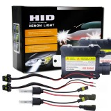 55W 3200LM H3 4300K HID Bulbs Xenon Light Conversion Kit with High Intensity Discharge Alloy Ballast, Warm White