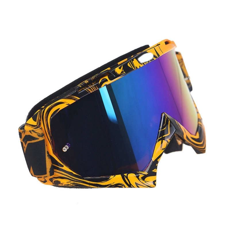 Motorcycle Parts Goggles Ski Goggles Outdoor Windproof Glasses (Colour)