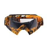 Motorcycle Parts Goggles Ski Goggles Outdoor Windproof Glasses (Transparent)