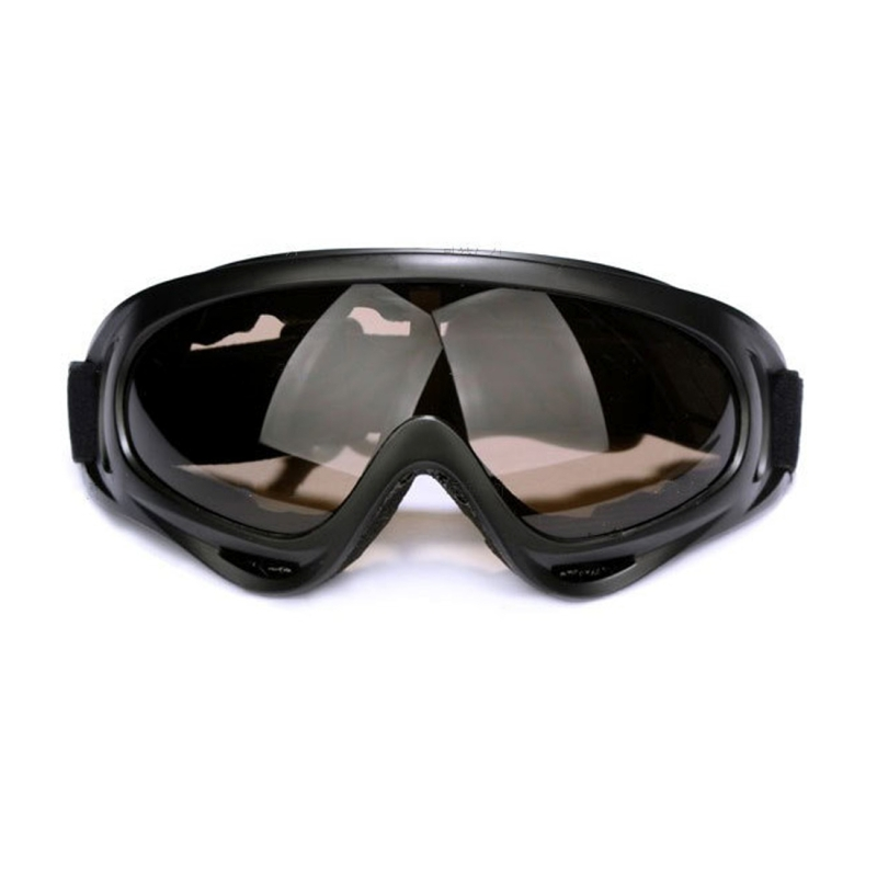 Motorcycle Parts Goggles Anti-UV Goggles Outdoor Windproof Glasses (Brown)