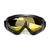 Motorcycle Parts Goggles Anti-UV Goggles Outdoor Windproof Glasses (Yellow)