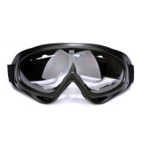 Motorcycle Parts Goggles Anti-UV Goggles Outdoor Windproof Glasses (Transparent)