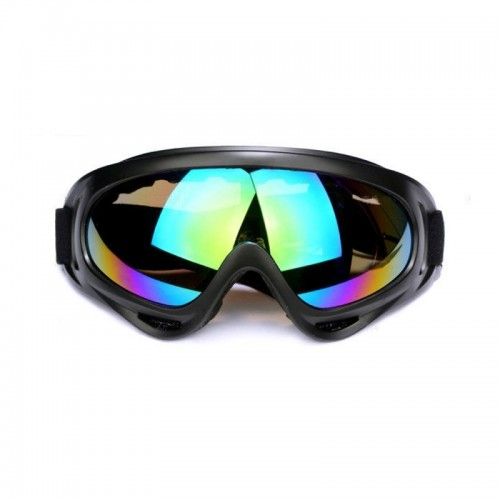 Motorcycle Parts Goggles Anti-UV Goggles Outdoor Windproof Glasses (Colour)