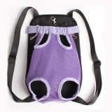 Front Pet Carrier Dog Backpack Bag, Size: M