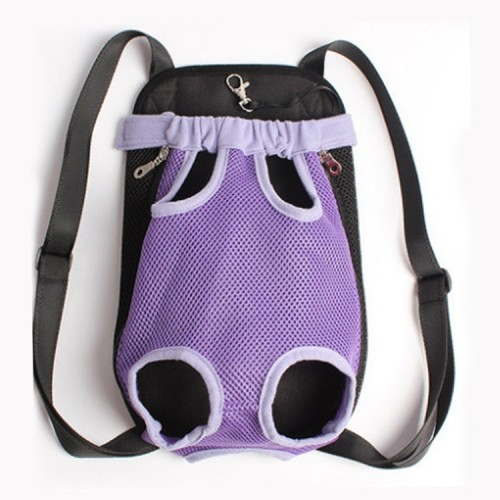 Front Pet Carrier Dog Backpack Bag, Size: S
