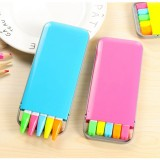 2 Boxes Sale Colorful Candy-color Highlighter Pen Key Point Marker Pen, Random Color