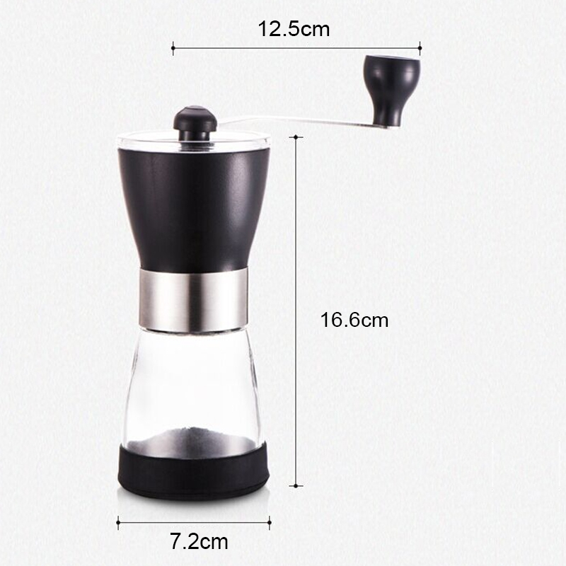 Portable Conical Burr Mill Manual Spice Herbs Hand Grinding Machine Coffee Grinder, Capacity: 20g