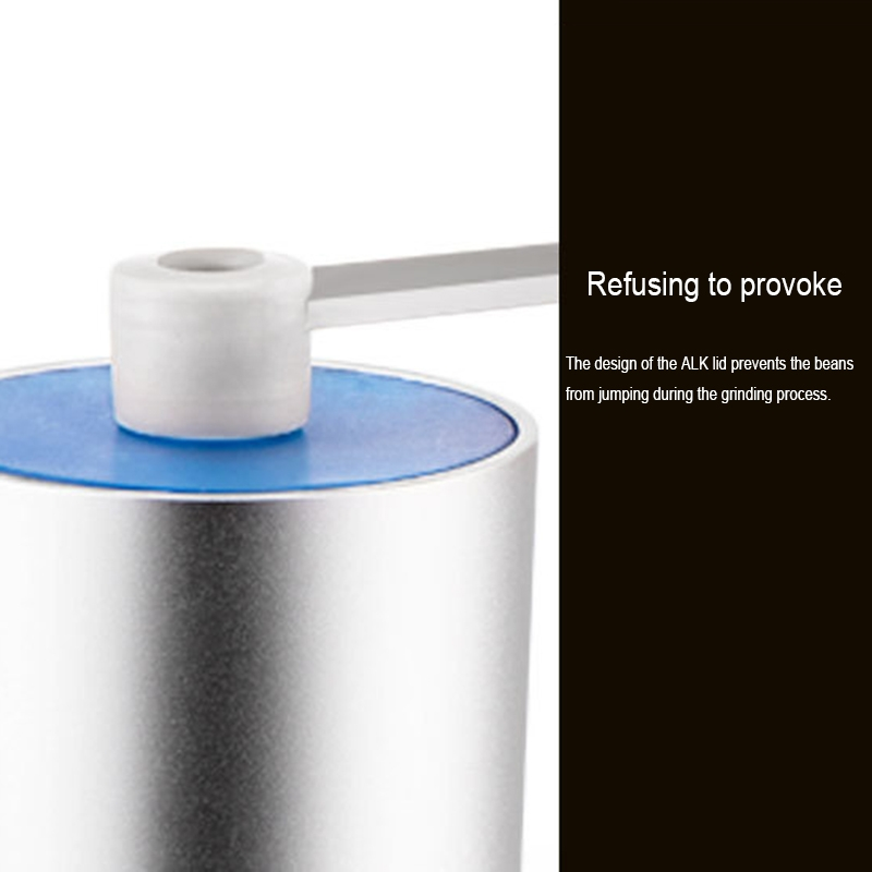 Portable Conical Burr Mill Manual Stainless Steel Spice Herbs Hand Grinding Machine Coffee Grinder