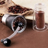 Portable Conical Burr Mill Manual Spice Herbs Hand Grinding Machine Coffee Grinder, Capacity: 36g