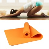 6mm Thickness Eco-friendly TPE Anti-skid Home Exercise Yoga Mat (Orange)