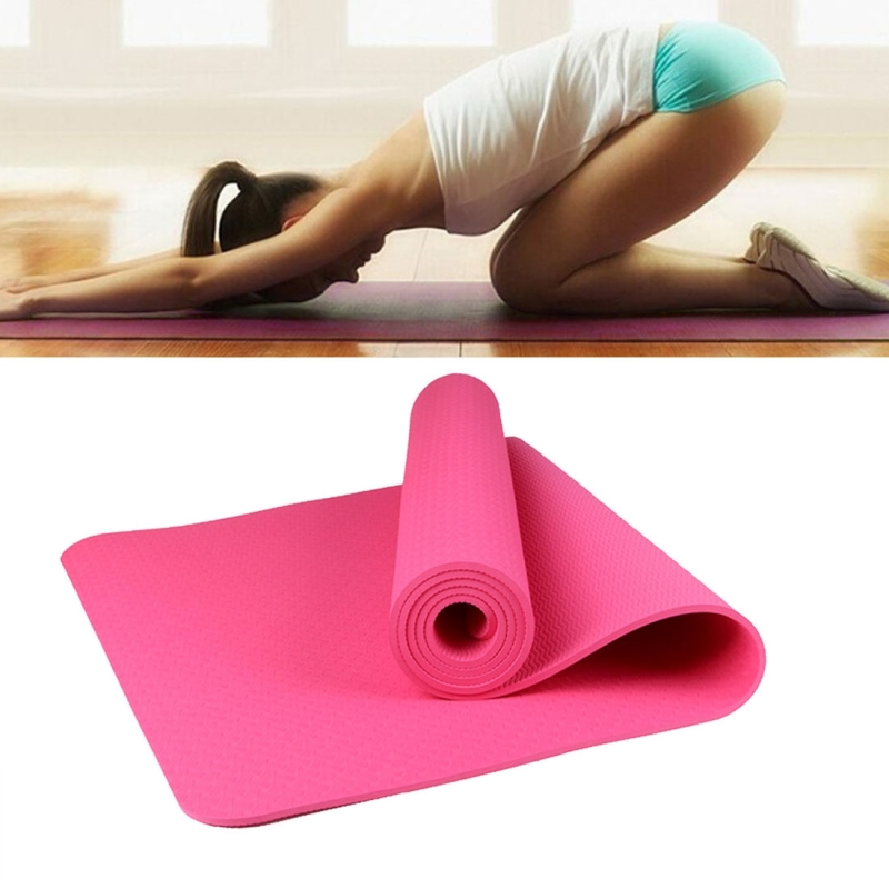 6mm Thickness Eco Friendly Tpe Anti Skid Home Exercise