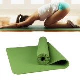 6mm Thickness Eco-friendly TPE Anti-skid Home Exercise Yoga Mat (Green)