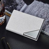 2 PCS Oracle bone texture Business Card Holder Wallet Credit Card ID Case Holder, Random Color