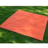 Naturehike NH15D005-X Portable Thickened Oxford Cloth Waterproof and Wear-resistant Foldable Lawn Moisture-proof Mat (Orange)
