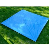 Naturehike NH15D005-X Portable Thickened Oxford Cloth Waterproof and Wear-resistant Foldable Lawn Moisture-proof Mat (Blue)
