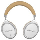 Bluedio F2 Over-ear Wireless Bluetooth 4.2 Noise Cancelling Headphones Headset with Mic, For iPhone, Samsung, Huawei, Xiaomi, HTC and Other Smartphones, All Audio Devices (White)