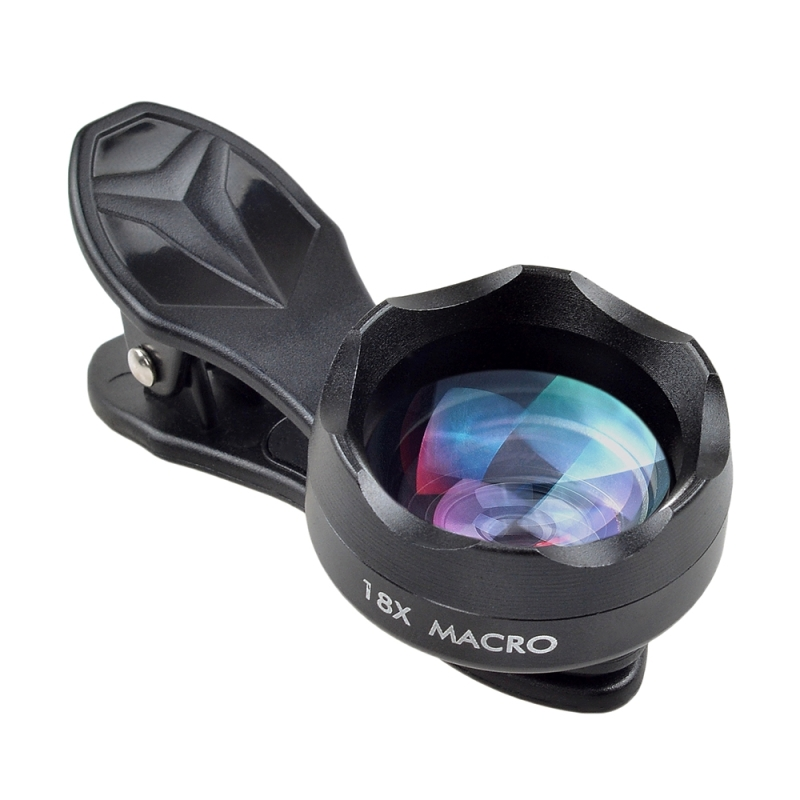 innovative design 61bce b8fa6 APEXEL APL-HD18X Professional Photography HD 18X Macro Lens Mobile Phone  External Lens, For iPhone, Galaxy, Huawei, Xiaomi, LG, HTC and Other Smart  ...