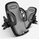 FLOVEME YXF111478 Car Air Outlet Mount 360 Degree Rotatable Phone Holder Cradle Stand, For iPhone, Samsung, LG, HTC, Huawei and other 4-6 inch Smartphones (Grey)