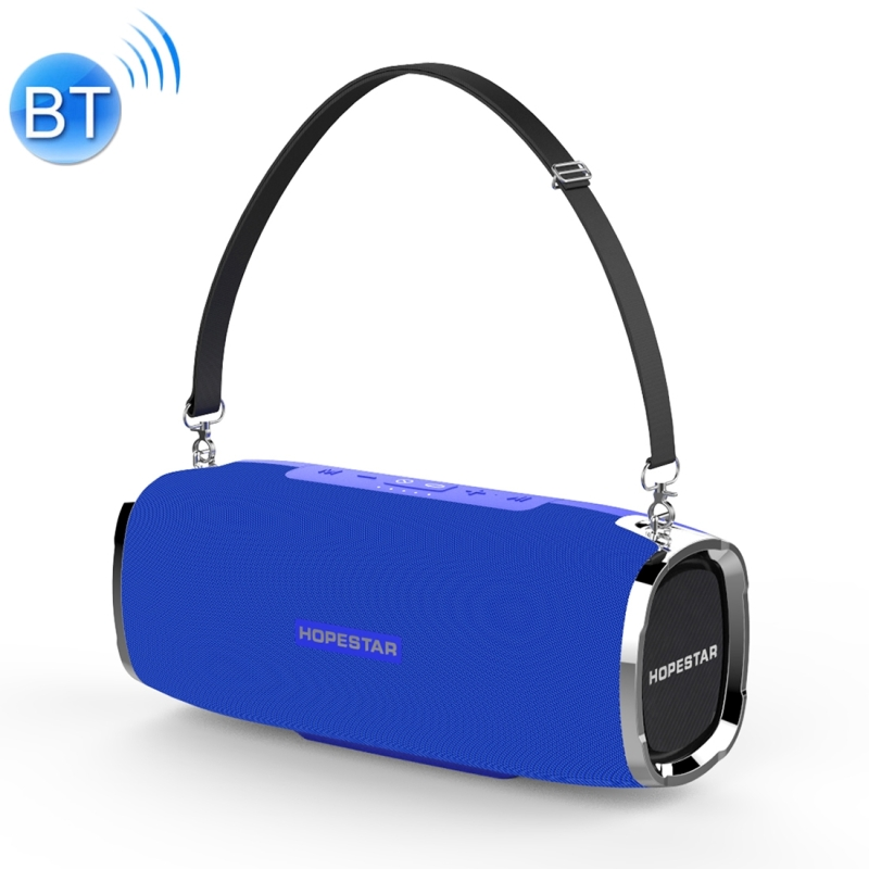 HOPESTAR A6 Mini Portable Rabbit Wireless Waterproof Bluetooth Speaker, Built-in Mic, Support AUX / Hand Free Call / FM / TF (Blue)
